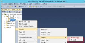SQLServerトランザクションログファイル圧縮