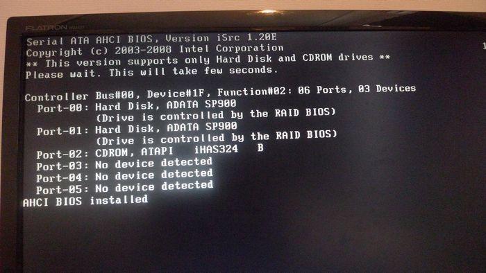 002_RAID0構築_RAID構成画面呼び出し